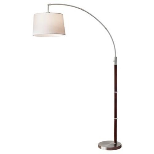 Adesso Alta Arc Lamp - Brown