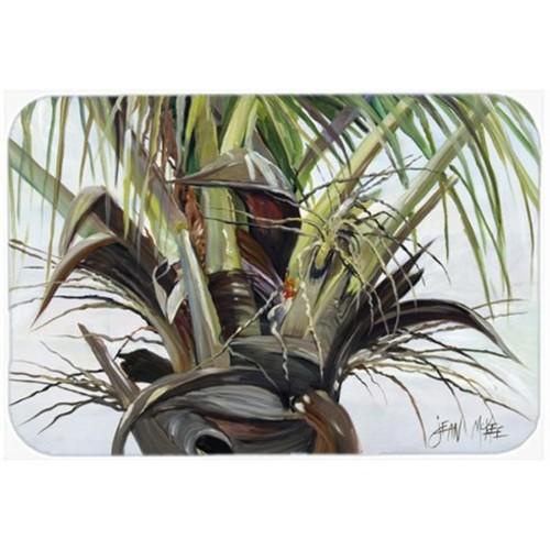 Top Palm Tree Glass Cutting Board