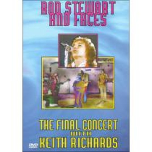 Rod Stewart and Faces: The Final Concert - With Keith Richards [DVD] [1974]