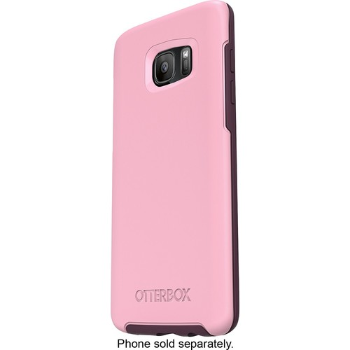 OtterBox - Symmetry Series Case for Samsung Galaxy S7 edge Cell Phones - Rose