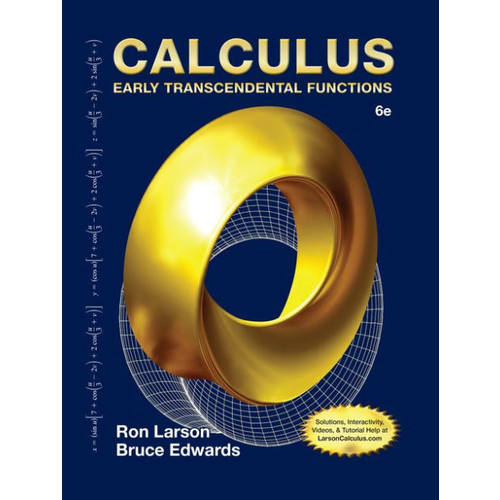 Calculus: Early Transcendental Functions / Edition 6