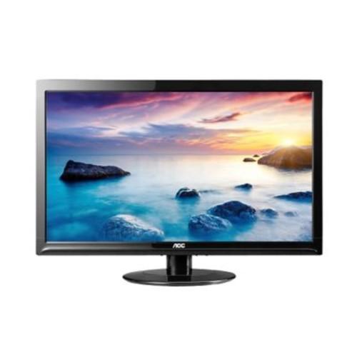AOC e2425swd 24-Inch Class LED Monitor, 1920x1080, 250cd/m2, 5ms, 20M:1 DCR, VGA/DVI, Wall Mountable