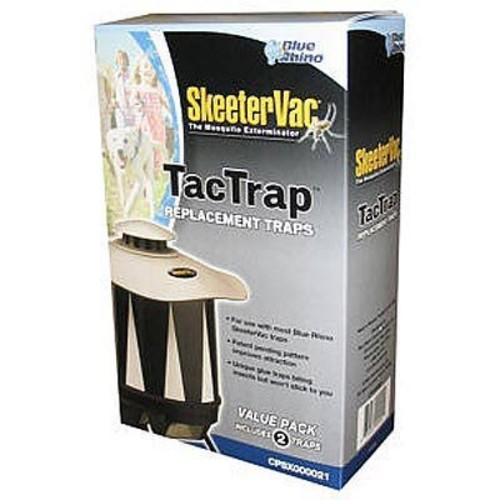 SkeeterVac TacTrap Mosquito Trap Replacement Cartridges - 2-Pk.