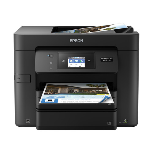 Epson WorkForce Pro WF-4734 All-In-One Inkjet Printer