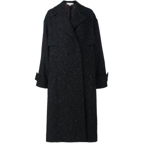 STELLA MCCARTNEY Speckled Oversized Coat