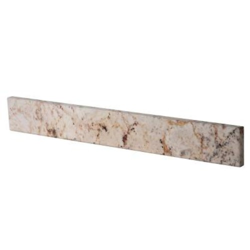 Home Decorators Collection 21 in. Stone Effects Sidesplash in Rustic G