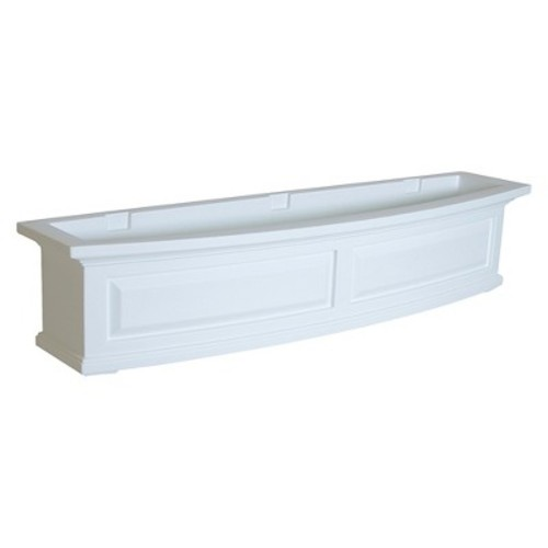 Nantucket Window Box 4FT White