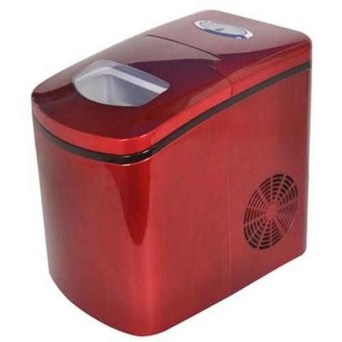 Avanti Port Countertop Ice Maker Red