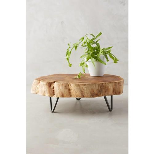 Footed Wood Slab Tray [REGULAR]