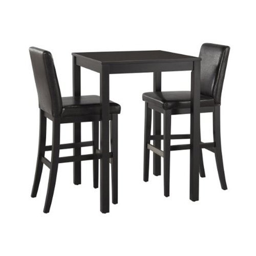 Home Styles Nantucket Bistro Table, Black