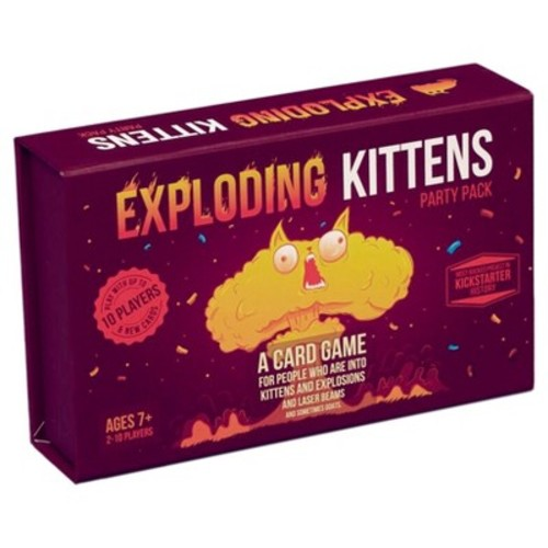 Exploding Kittens Party Pack Game