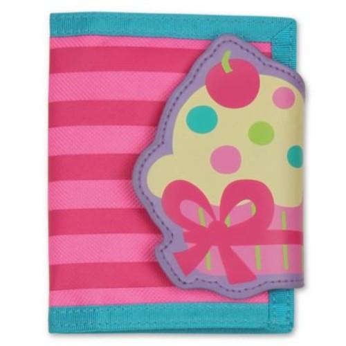 Stephen Joseph Cupcake Wallet in Pink