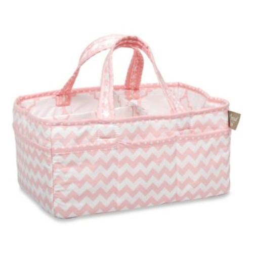 Trend Lab Pink Sky Diaper Caddy