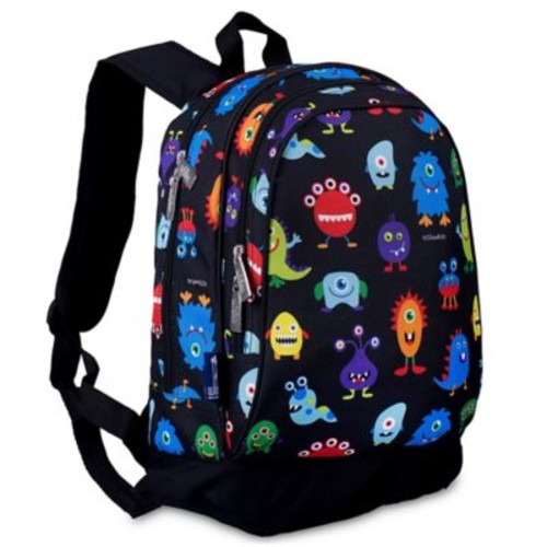 Olive Kids Monsters Sidekick Backpack in Black