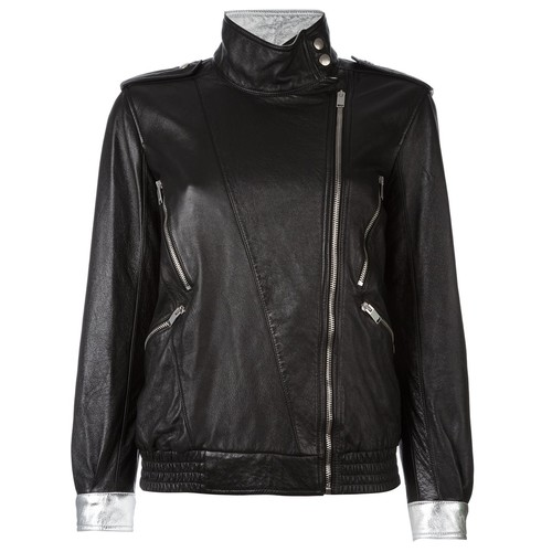 SAINT LAURENT Zip Detail Jacket