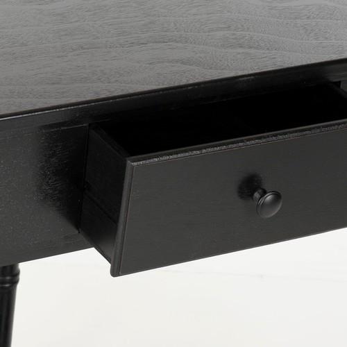 Safavieh Coffee, Console, Sofa & End Tables Safavieh Gomez Black Corner Table