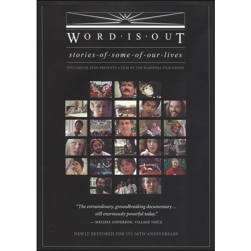 Word Is Out: Stories of Some of Our Lives [DVD] [English] [1977]