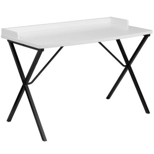 White Computer Desk - Flash Furniture