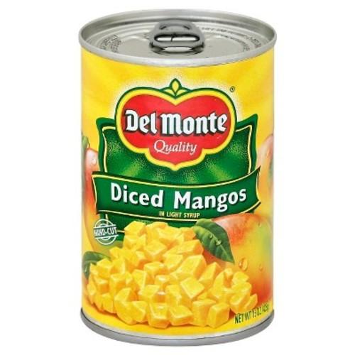 Del Monte Diced Mangos 15 oz
