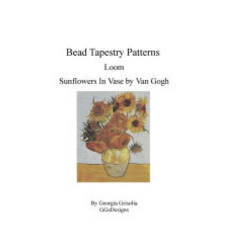 Bead Tapestry Patterns Loom Sunflowers In Vase by van Gogh