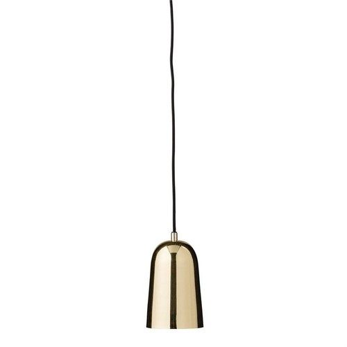 Gold Metal Pendant Lamp design by BD Edition