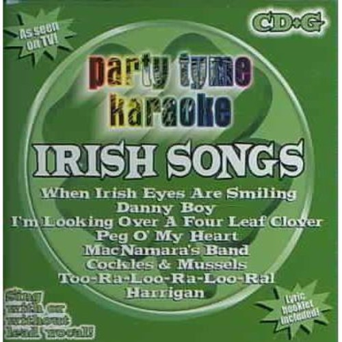 Party Tyme Karaoke: Irish Songs [CD]
