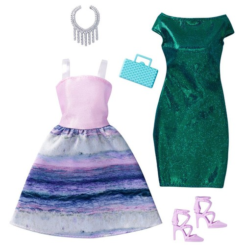 Barbie 2 Pack Fashions Outfit for Doll - Mermaid