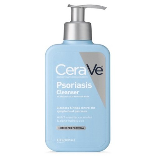 CeraVe Psoriasis Cleanser with Salicylic Acid - 8oz