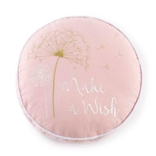 Levtex Baby Dandelion Round Throw Pillow in Pink