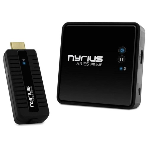 Nyrius Wireless Video HDMI Transmitter & Receiver for Streaming 1080p HD 3D TV - NPCS549