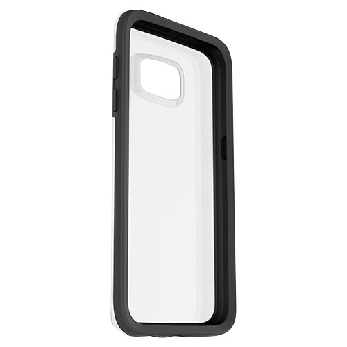 OtterBox - Symmetry Series Clear Case for Samsung Galaxy S7 - Black Crystal