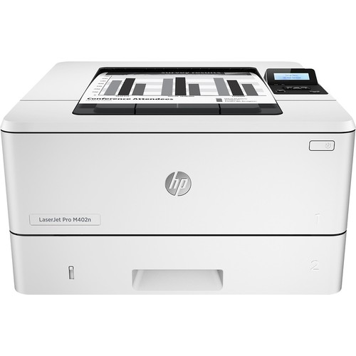 HP - LaserJet Pro m402n Black-and-White Printer - Gray