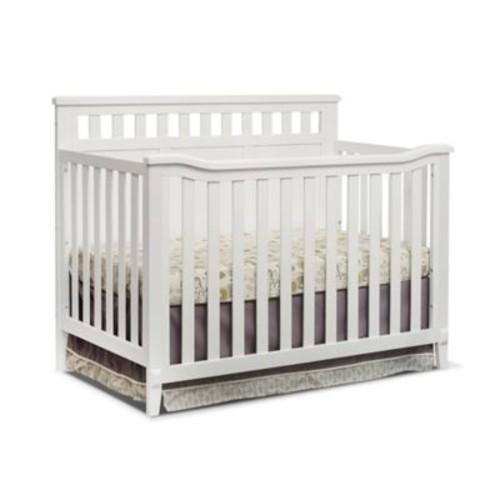Sorelle Madrid 4-in-1 Convertible Crib in White