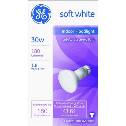 Satco R20 Incandescent Floodlight Light Bulb - S3210
