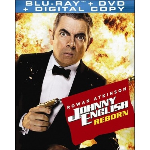 Johnny English Reborn (2 Discs) (Includes Digital Copy) (UltraViolet) (Blu-ray/DVD)