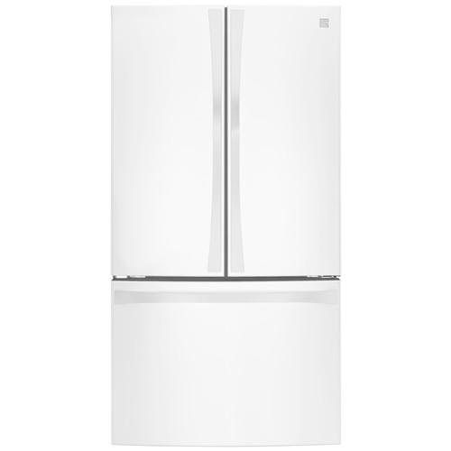 Kenmore Elite 74012 30.6 cu.ft. French Door Bottom-Freezer Refrigerator - White