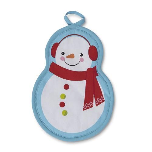 Trim A Home Winter Potholder - Snowman