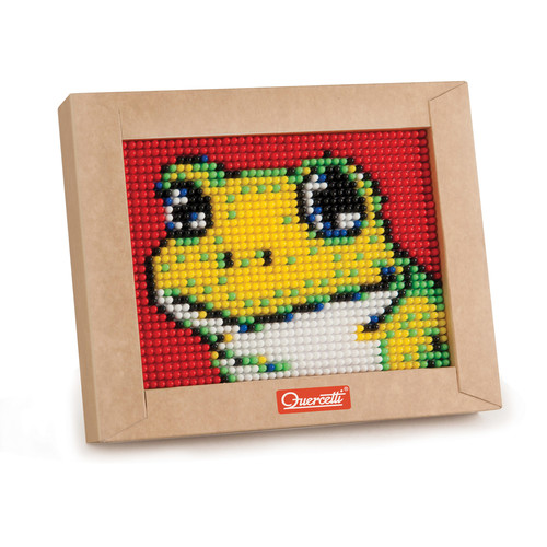 Quercetti Mini Frog Pixel Art