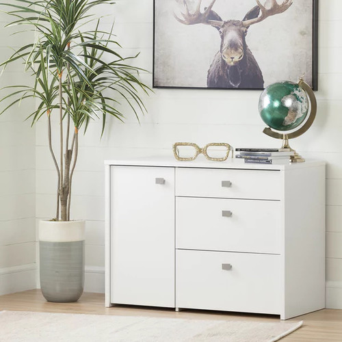 South Shore Furniture Filing Cabinets & File Storage South Shore Interface Storage Unit with File Drawer