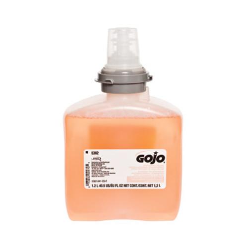 GOJO Premium Foam Antibacterial Hand Wash, Fresh Fruit Scent, 1200ml, 2/Case