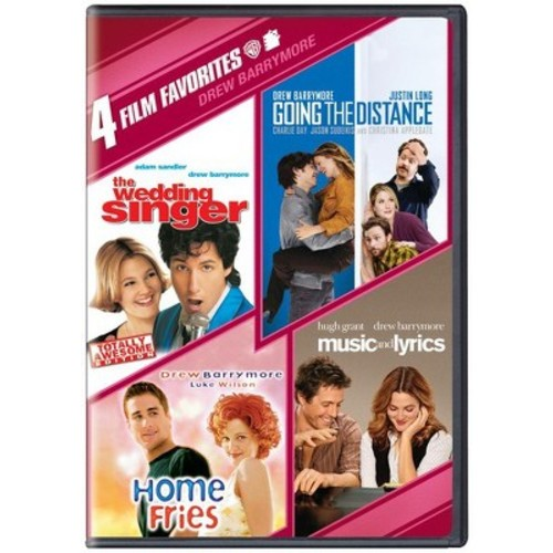 4 Film Favorites: Drew Barrymore - Music And Lyrics / Going The Distance / The Wedding Singer / Home Fries (Widescreen)