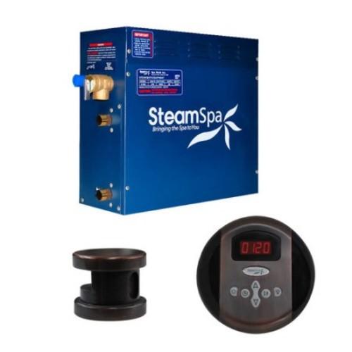 Steam Spa SteamSpa Oasis 6 KW QuickStart Steam Bath Generator Package in Oil Rubbed Bronze