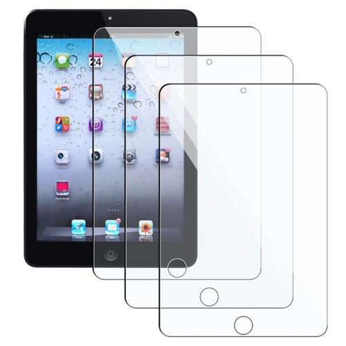 Insten Reusable Screen Protector For Apple iPad Mini With Retina Display, Clear, 3/Pack