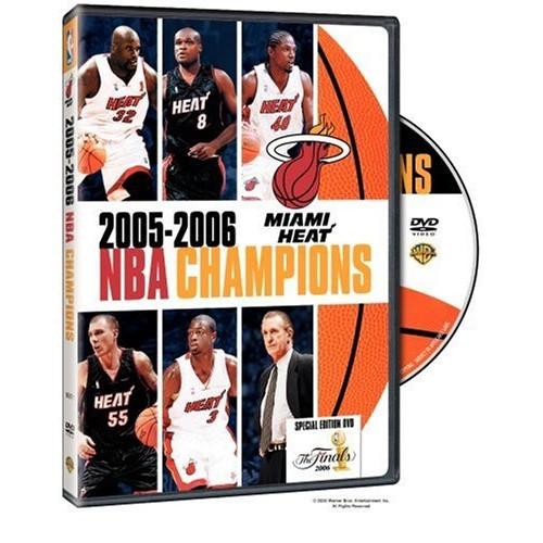NBA Champions 2006: Miami Heat DVD