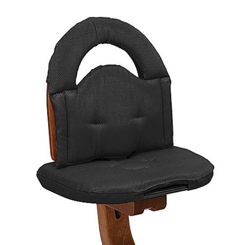 Svan High Chair Cushion in Black
