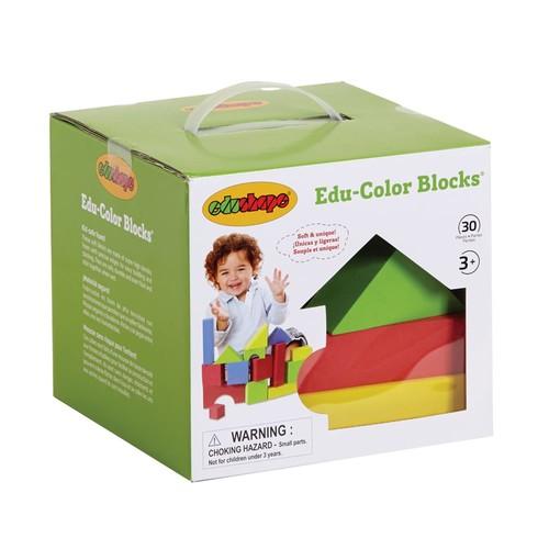 Edushape Ltd Educolor Foam Blocks (30 pieces)