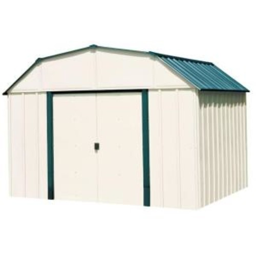 Arrow Sheridan 10 ft. x 14 ft. Vinyl Storage Building