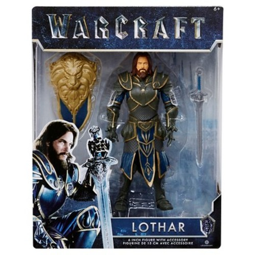 World of Warcraft Lothar Figure with Accessory 6\