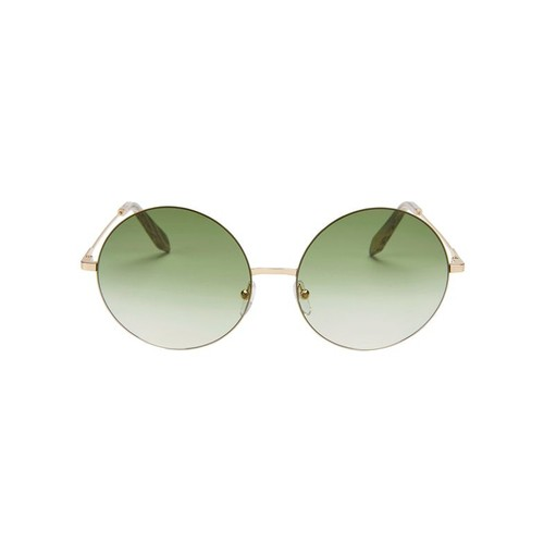 VICTORIA BECKHAM Feather Rimless Sunglasses
