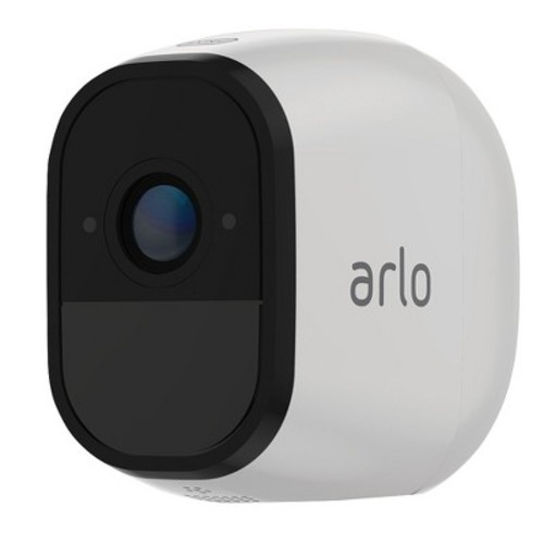 Arlo Pro Add-on Rechargeable Wire-Free HD Security Camera with Audio and Siren VMC4030-100NAS by Netgear - White